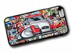 Koolart STICKERBOMB STYLE Design For Old Skool Retro Citroen 2CV Dolly Hard Case Cover Fits Apple iPhone 6 & 6s